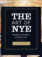 Das Silvester Ticket Berlin für The Art Of NYE im Yard Club